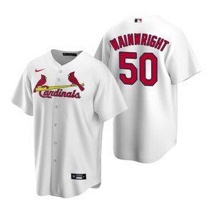 St. Louis Cardinals #50 Adam Wainwright Jersey